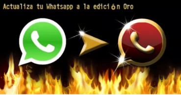 WhatsApp Oro, nueva estafa en Twitter