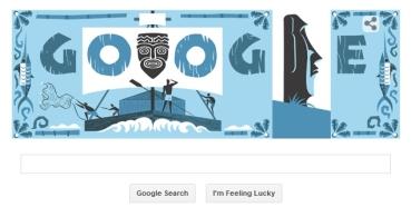 Google rinde homenaje a Thor Heyerdahl en un Doodle