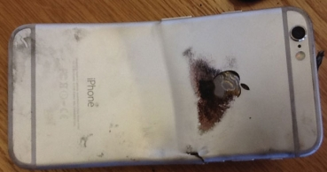Un iPhone 6 se dobla y explota en el bolsillo