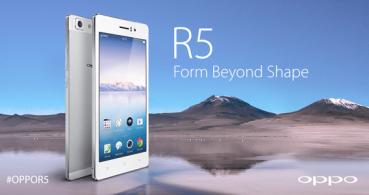 Oppo R5 se posiciona como el smartphone más fino
