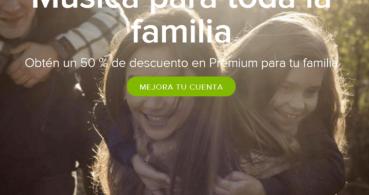 Spotify Family, suscripción Premium por 29,99 euros para toda la familia