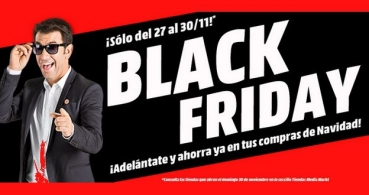 Ofertas del Black Friday en Media Markt