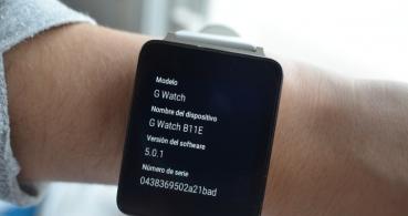 Android Wear 5.0: nueva actualización del software para wearables
