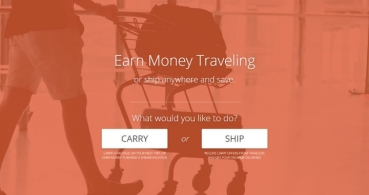 Carry: transporta objetos de otras personas en tu maleta por dinero