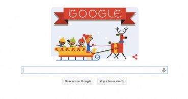 """Google nos desea """"Felices fiestas"""" con un Doodle"""