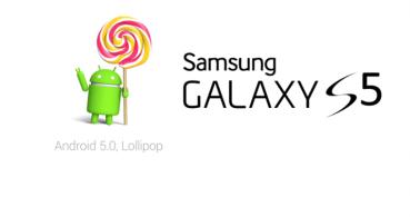 Android 5.0 Lollipop comienza a llegar al Samsung Galaxy S5
