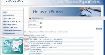 """Hackean la web de AEDE por su """"tasa Google"""""""