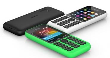 Microsoft presenta el Nokia 215: 21 días de batería por 25 euros