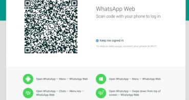Oculta el doble check azul en WhatsApp Web