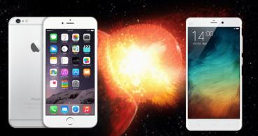 ¿Cambiarías tu iPhone por un Xiaomi Mi Note?