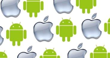 iOS crece pero lejos de Android en España