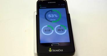 Carga la batería del móvil en solo 60 segundos