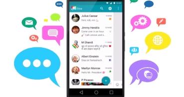 Disa une en una sola app a los SMS, WhatsApp, Telegram y Facebook