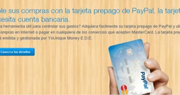 La tarjeta prepago de Paypal Younique Money deja de operar