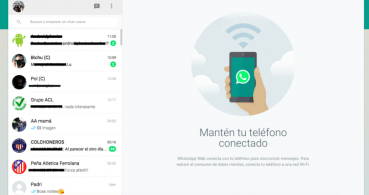 WhatsApp Web ya está disponible en el ordenador