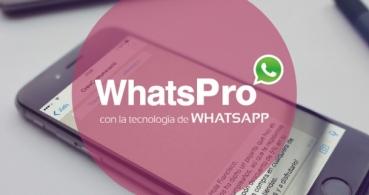 WhatsPro, utiliza WhatsApp como un profesional