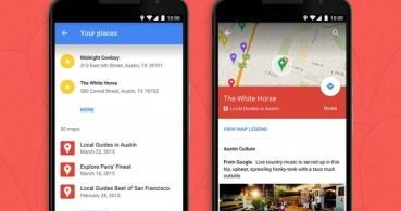 Google Maps para Android ya muestra las rutas de My Maps