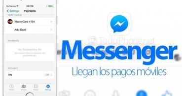 Facebook Messenger ya permite enviar dinero a tus amigos