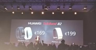 Huawei TalkBand B2 y TalkBand N1 presentados oficialmente en el MWC 2015