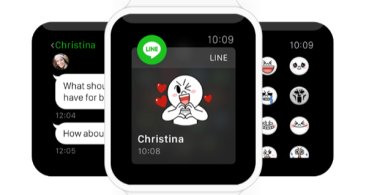 LINE se adelanta a WhatsApp con soporte para el Apple Watch
