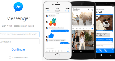 Cómo usar Facebook Messenger desde la web