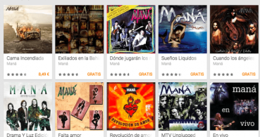 Descarga gratis la discografía de Maná desde Google Play