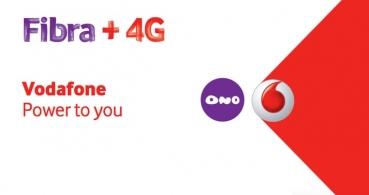 Vodafone ONE, la primera oferta con ONO fibra de 200 megas, TV y red 4G