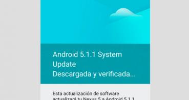 Android 5.1.1 ya disponible para Nexus 4, 5, 7, 9 y 10