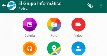 Descarga WhatsApp con Material Design en Google Play