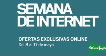 El Corte Inglés celebra la Semana de Internet con ofertas online