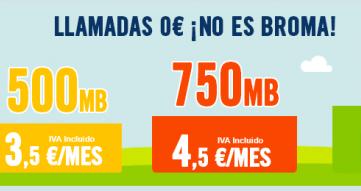 Happy Móvil presenta la tarifa Habla y Navega Mediana por 4,5 euros