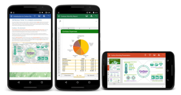 Descarga ya Office para móviles Android