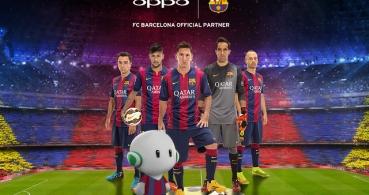 Oppo se alía con el FC Barcelona