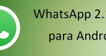 WhatsApp 2.12.87 para Android mejora la interfaz Material Design