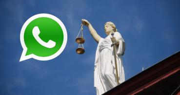 El juzgado se podrá comunicar contigo mediante WhatsApp