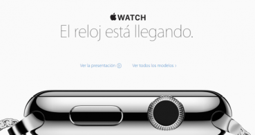 Apple anuncia la disponibilidad del Apple Watch en España