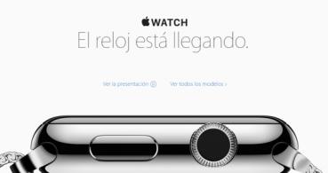 Apple anuncia la disponibilidad del Apple Watch en España
