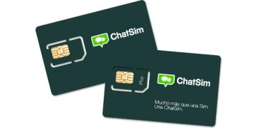 Compra ChatSim en España, la tarjeta SIM para WhatsApp