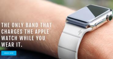 Esta correa para el Apple Watch te da 30 horas más de batería