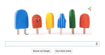 Google celebra con un Doodle la llegada del verano