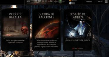 Mortal Kombat X para móvil por fin dispone del desafío Raiden