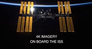 Primer vídeo en 4K desde la Estación Espacial Internacional
