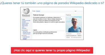 Parodia Wikipedia, nuevo viral en las redes sociales