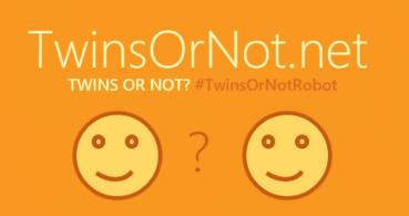 TwinsOrNot.net, sube dos fotos y te dirá si sois gemelos