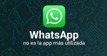 WhatsApp es la segunda app más utilizada en el mundo, ¿cuál es la primera?