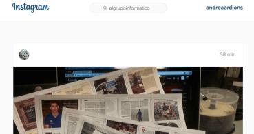 Instagram añade un cuadro de búsqueda en la versión web