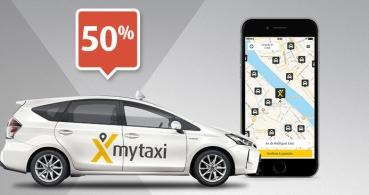 Consigue un 50% de descuento en el taxi gracias a Mytaxi