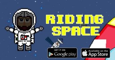 Descarga Riding Space para Android e iOS, una divertida aventura espacial
