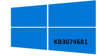 La actualización KB3074681 provoca el cierre del Explorador en Windows