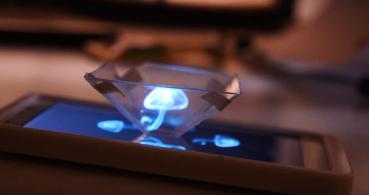 Cómo convertir tu iPhone en un holograma 3D